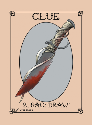 Clue Token for MTG (Mike Jones)