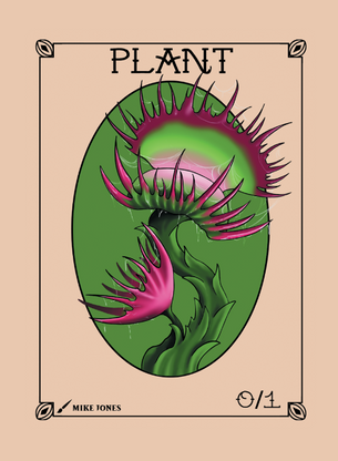 Plant Token for MTG (Mike Jones)