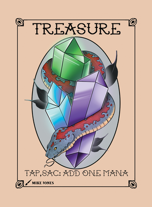 Treasure Token for MTG (Mike Jones)
