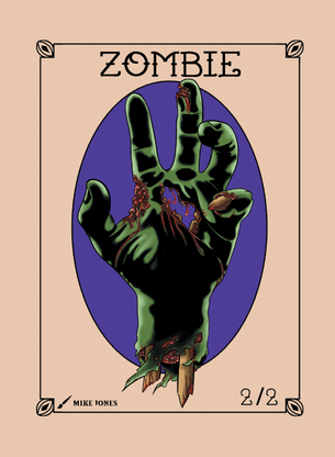 Zombie Token for MTG (Mike Jones)