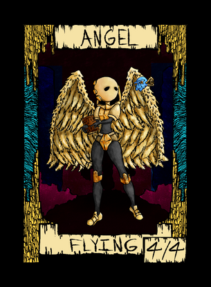 Angel Token for MTG (Dogmuth Behedog)