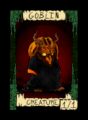 Goblin Token for MTG (Dogmuth Behedog)