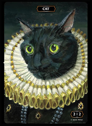 Cat (Queen) Token (Aaron Miller)