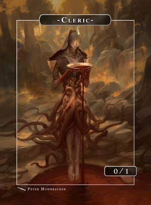 Cleric Zaquiel Token for MTG (Peter Mohrbacher)