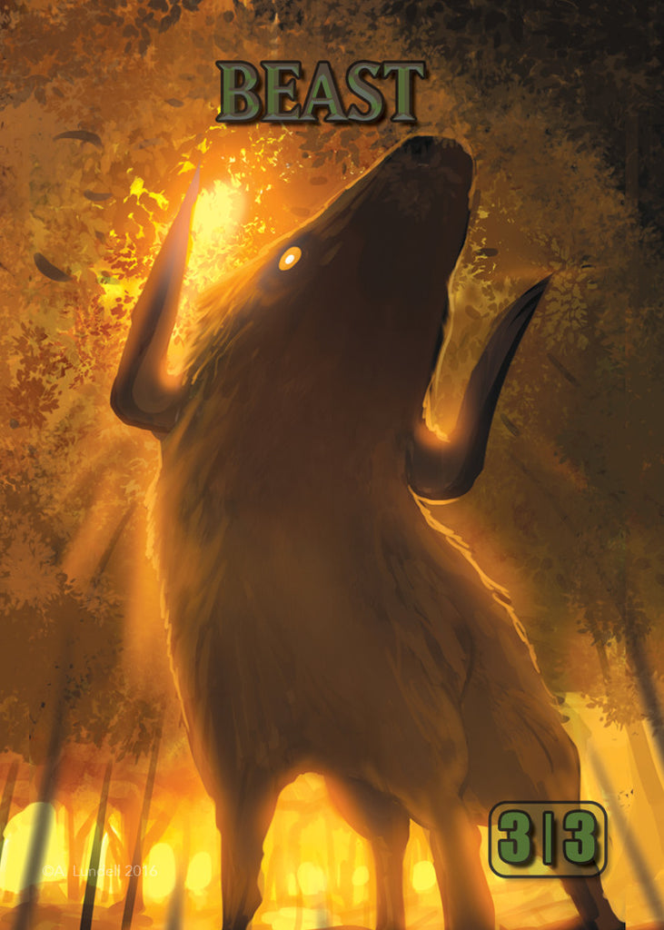 Beast Token for MTG (ISH)