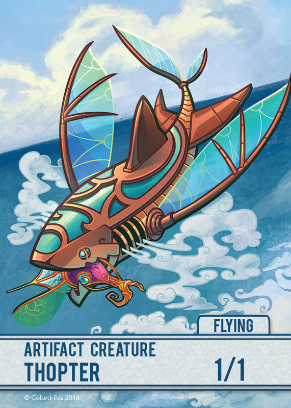 Thopter Token for MTG (COL) Token Colordrilos - Cardamajigs