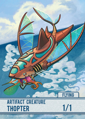 Thopter Token for MTG (COL)