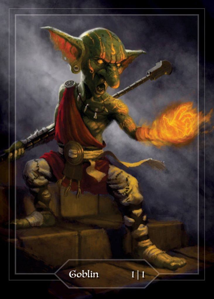 Goblin for MTG (ROB) Token Robson Michel - Cardamajigs