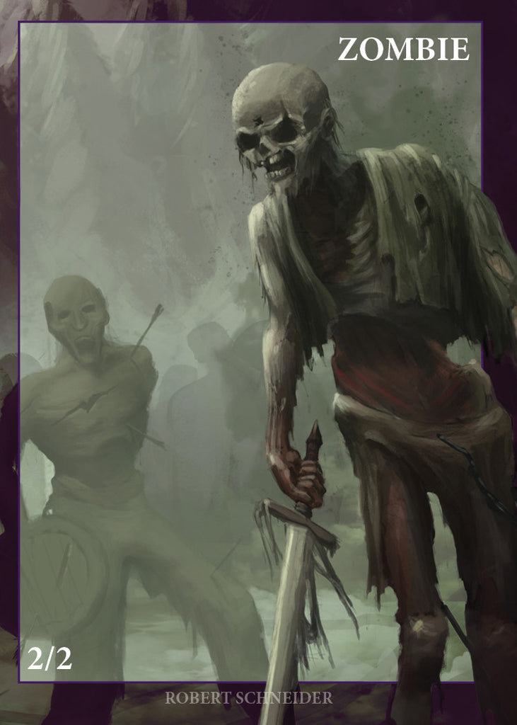 Zombie Decay for MTG (CUT)