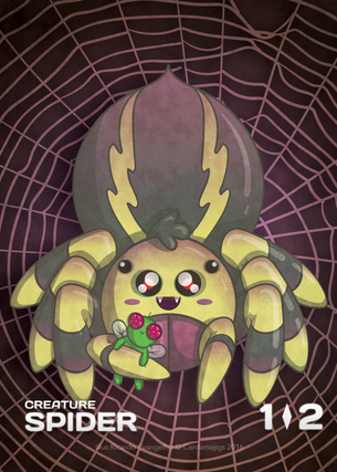 Spider Token for MTG (CMJ)