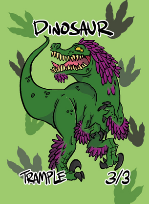 Dinosaur 1 for MTG (ROS)
