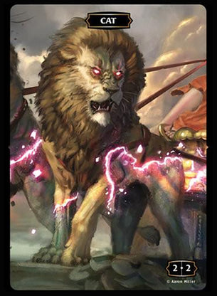 Cat (Lion) Token (Aaron Miller)