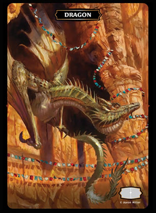 Dragon (Red Rocks) Token (Aaron Miller)