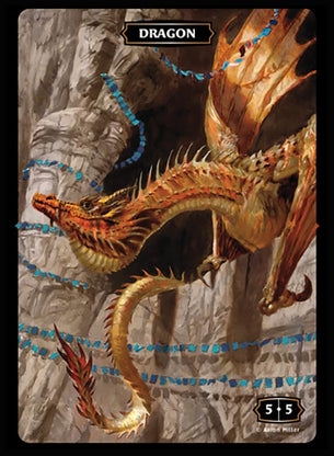 Dragon Token 5/5 (Aaron Miller)