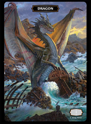 Dragon (Shipwreck Cover) Token (Aaron Miller)