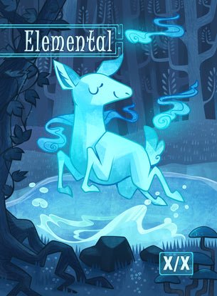 Elemental Token for MTG (COL)