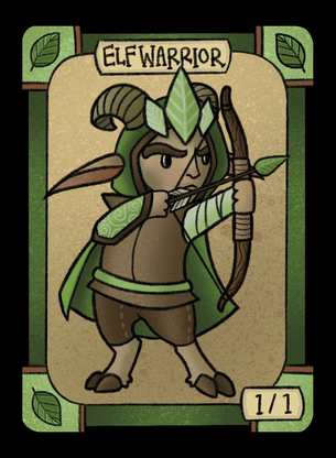Elf for MTG (LAN)
