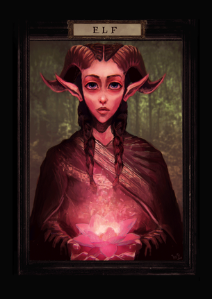 Elf Token for MTG (Walter Louis)