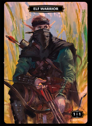 Elf Warrior Token - Ranger (Aaron Miller)