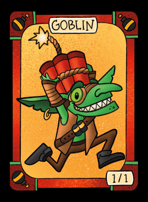4x Goblin Tokens for MTG (LAN)