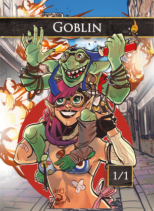 Goblin for MTG (Mountain Go)