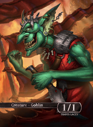 Goblin Token for MTG (RES) Token Ravens Eye Studios - Cardamajigs