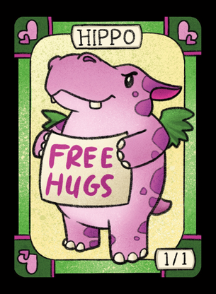 Hippo Cute 2 for MTG (LAN)