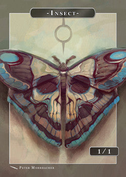 Insect Token for MTG (Peter Mohrbacher)