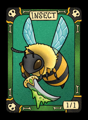 Insect (Hornet) for MTG (LAN)