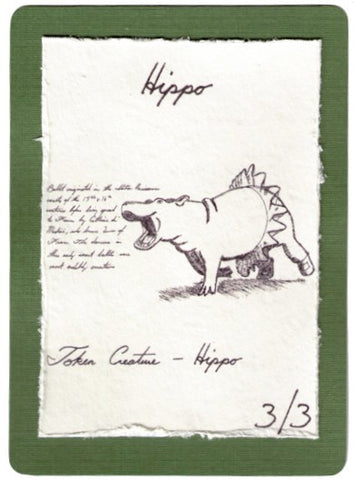 Handmade Hippo (Mouth // Feed) for MTG (SPZ)
