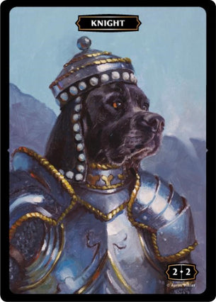 Knight (Dog) Token (Aaron Miller)