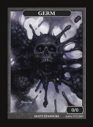 Limited Edition Germ Token for MTG (by Matt Stawicki)