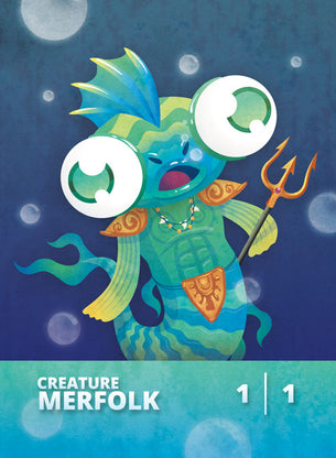 Merfolk token for MTG (CMJ)