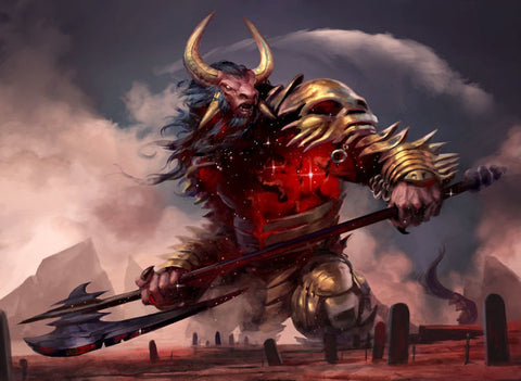Mogis, God of Slaughter - Print