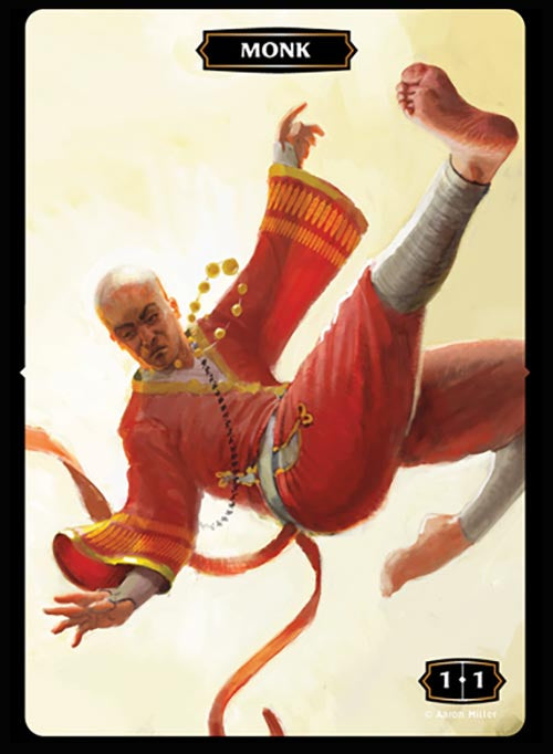 Monk (Red) Token (Aaron Miller)