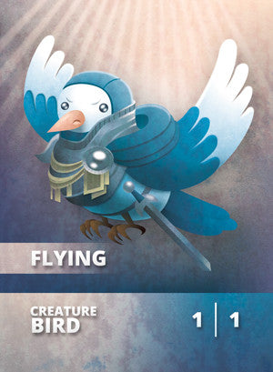 Bird Token for MTG (CMJ) Token Cardamajigs - Cardamajigs