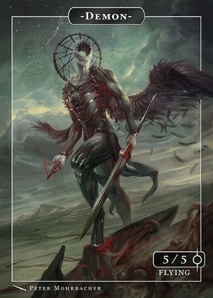 Demon Token for MTG (PMO)