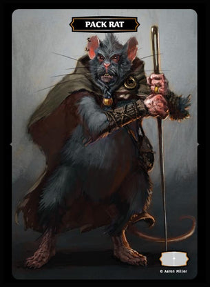 Pack Rat Token (Aaron Miller)