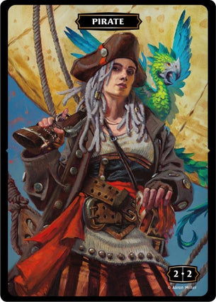 Pirate (Mary) Token (Aaron Miller)
