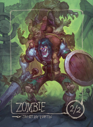 Zombie (Darnell) for MTG (James Loy Martin)