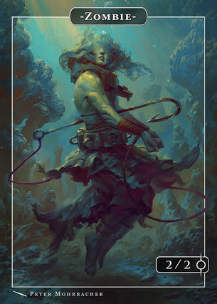 Zombie Rahab Token for MTG (Peter Mohrbacher)