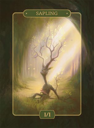 Sapling Token for MTG (Alison Johnstun)