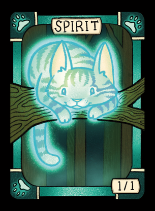 Cat (Spirit) for MTG (LAN)