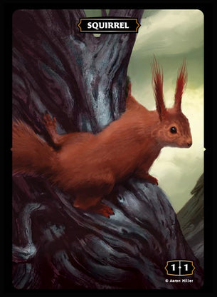 Squirrel Token (Aaron Miller)