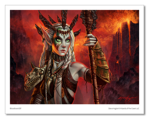 Bloodbraid Elf - MTG Print (Steve Argyle)