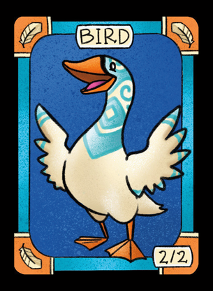 Bird (Swan) for MTG (LAN)