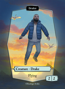 Drake Token for MTG (ROD)