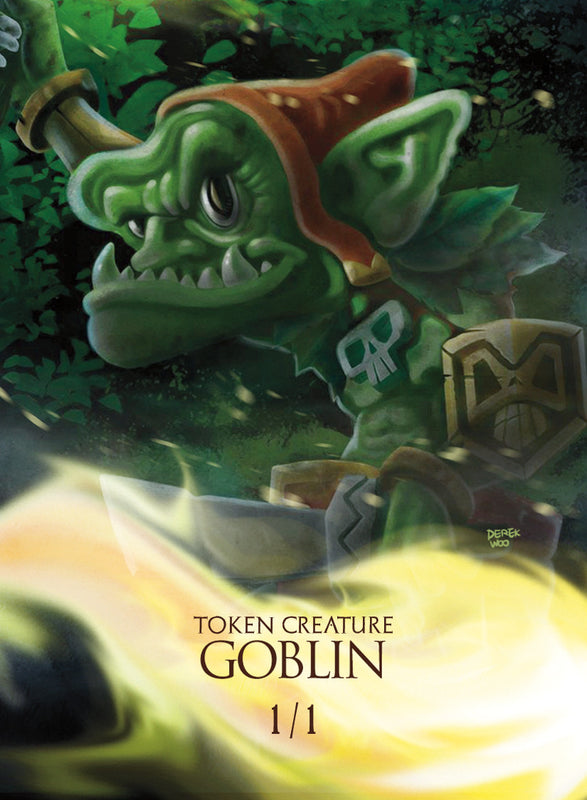 Goblin Token for MTG (The Vault) Token The Vault - Cardamajigs