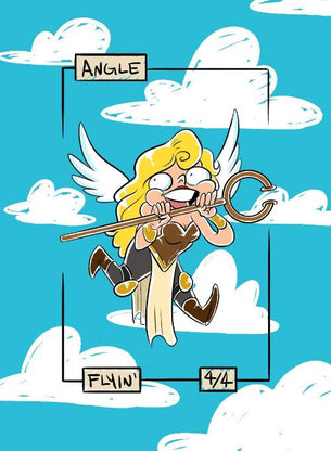 Angel Token for MTG (HAZ)