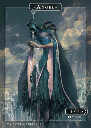 Angel Matariel Token for MTG (Peter Mohrbacher)